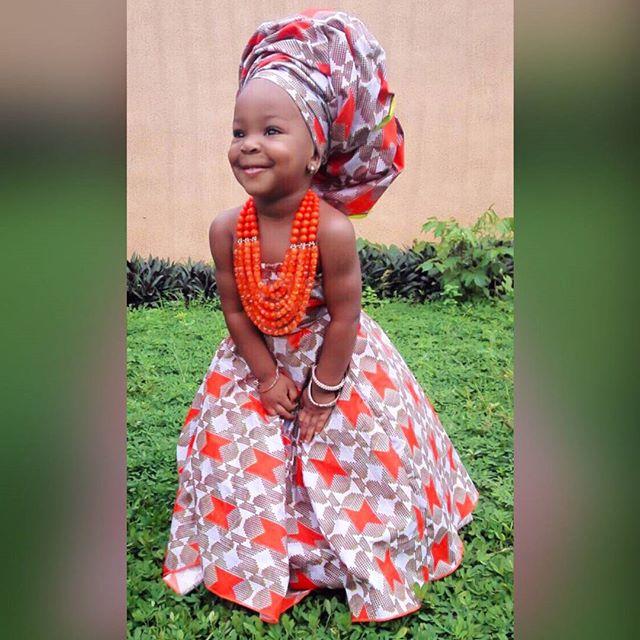 little girl in flowy gown