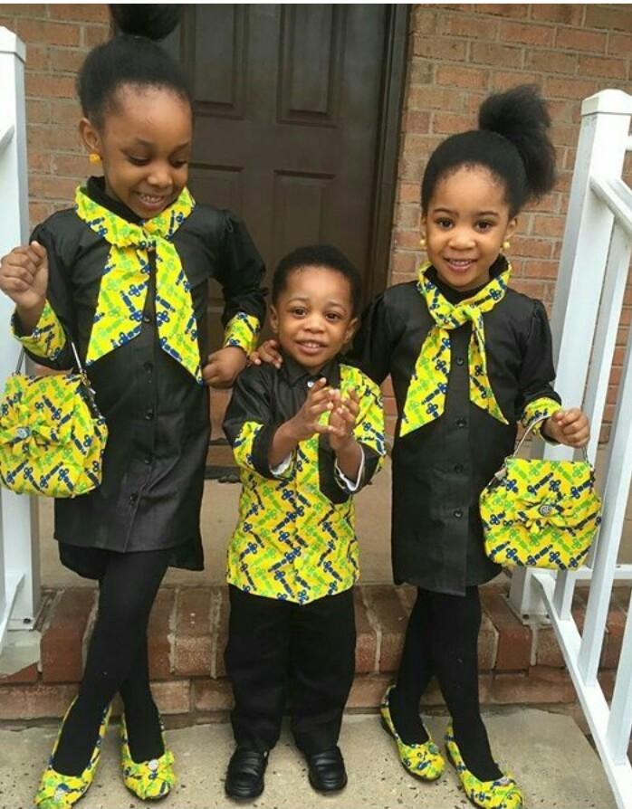 siblings in trad attire