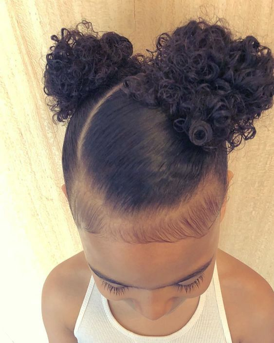 20 Cute And Natural Kids Hairstyles For Your Baby Girl Babiesmata Babies And Motherhood